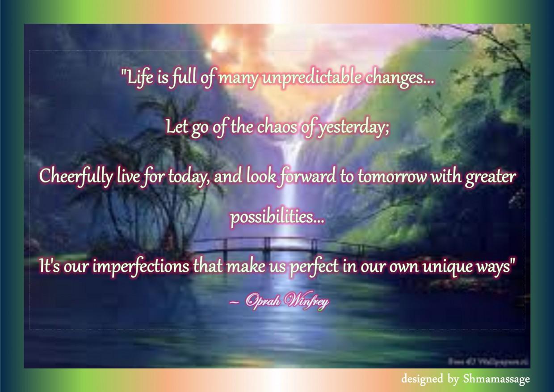 Quote by Oprah Winfrey designed by Shmamassage, massagesalon Rotterdam