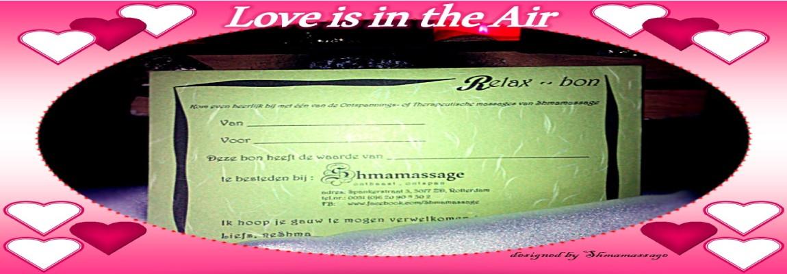 Cadeaubon voor Valentijn bij Shmamassage, massagepraktijk exclusief voor Vrouwen